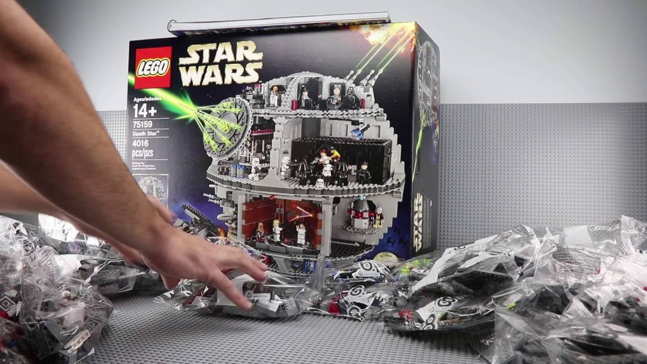 lego 75159 building experience