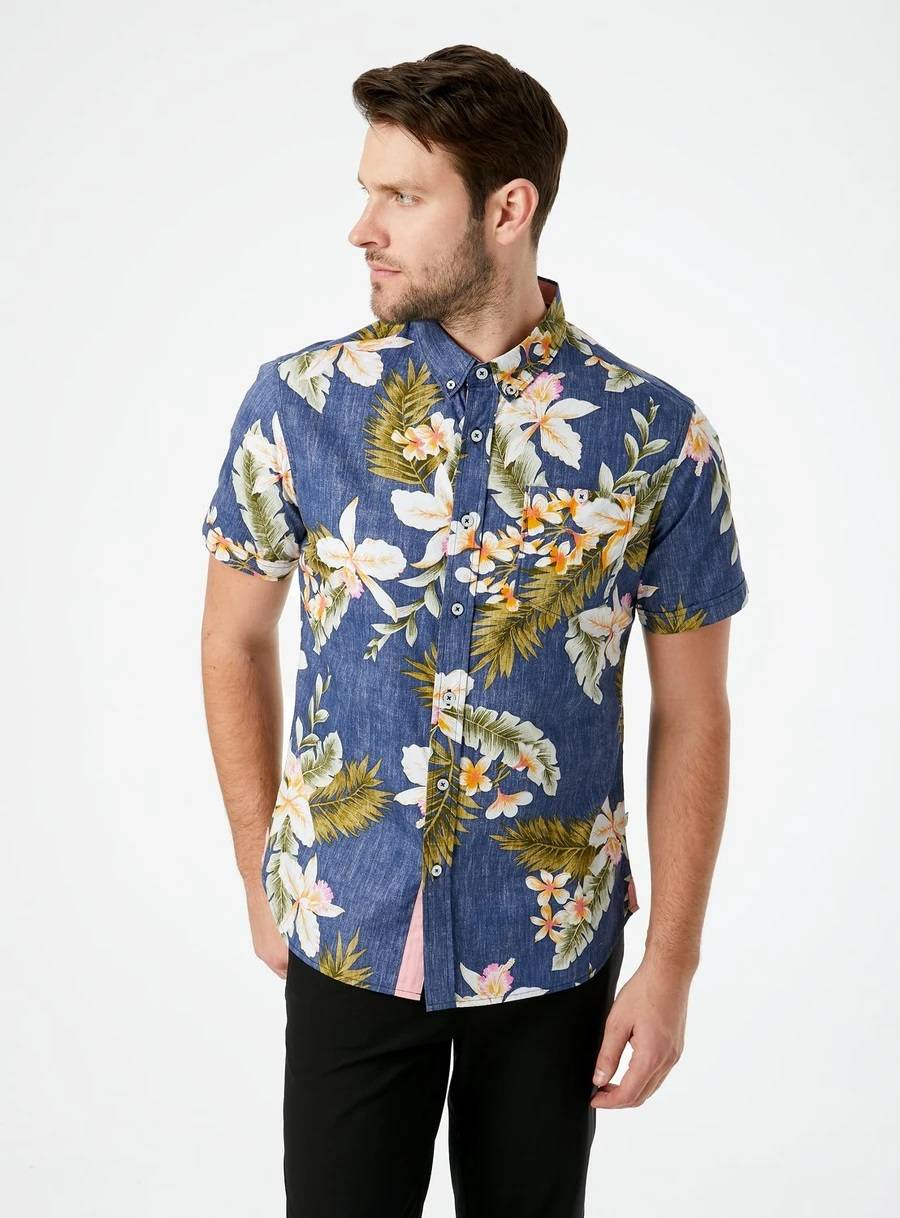 Diamond Meadows Short Sleeve Shirt