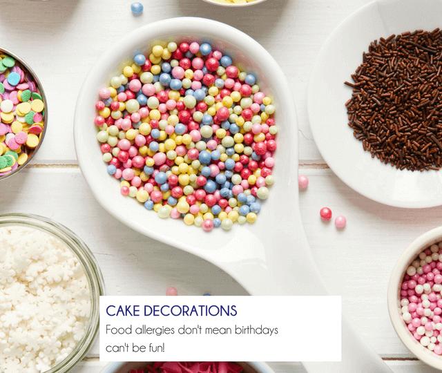 Cake Decorations - Happy Tummies