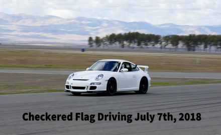 Checkered Flag Driving Buttonwillow July 2018 13CW