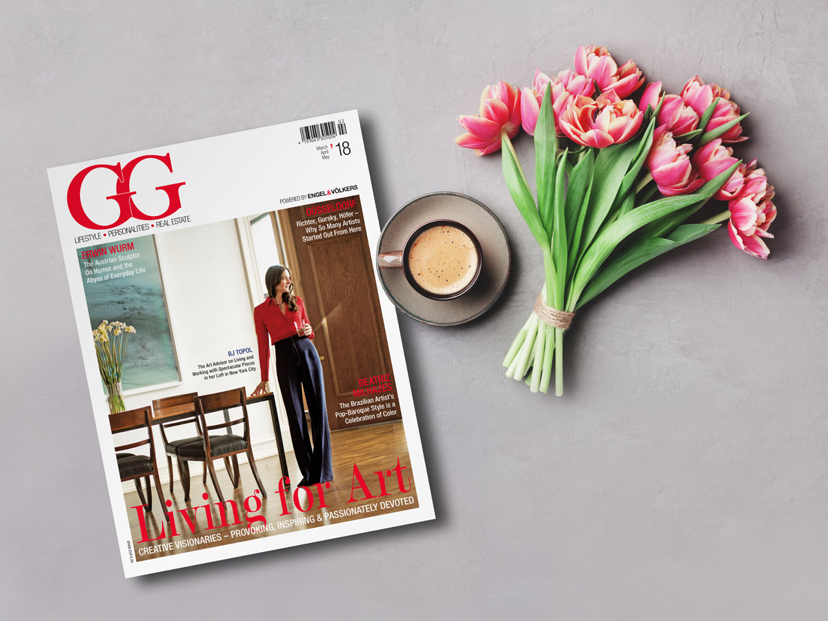 Aesthetic, provocative and inspiring, a colourful issue filled with art. The new GG Magazine is here!