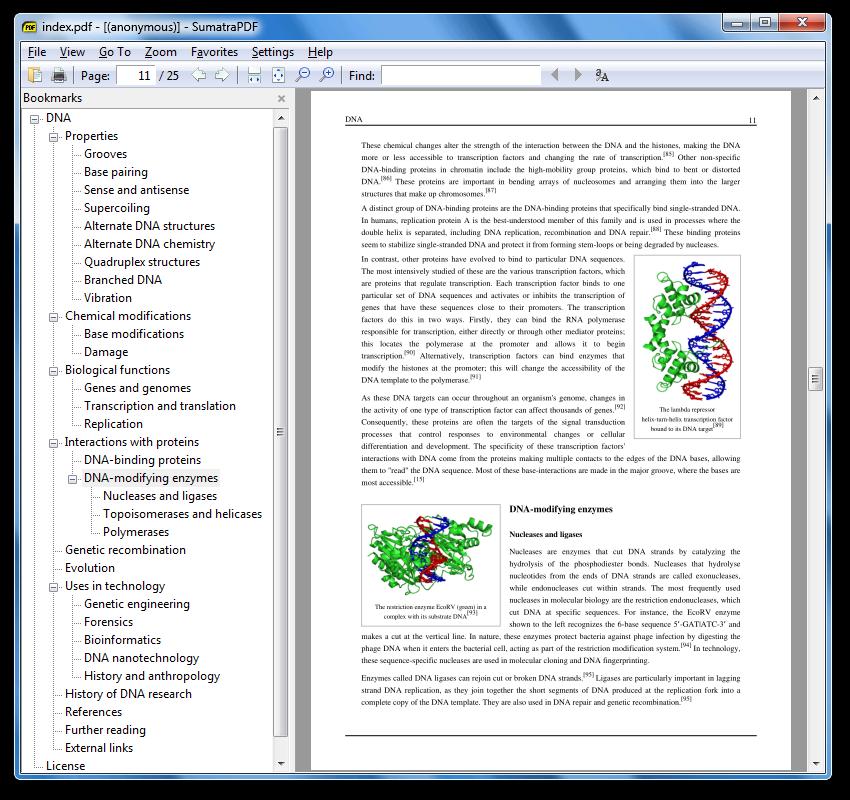 Sumatra PDF vs Adobe Reader detailed comparison as of 2019