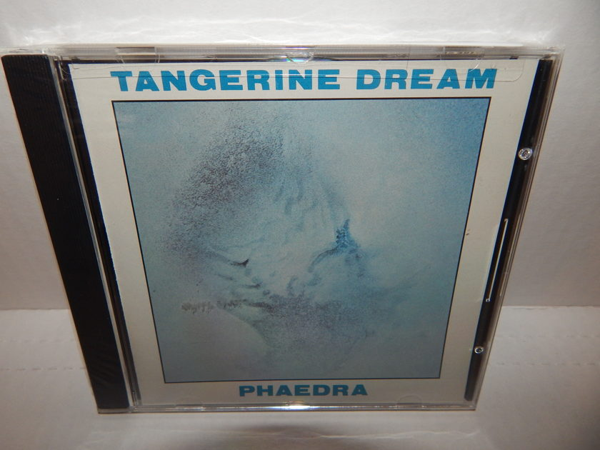 TANGERINE DREAM PHAEDRA - 1985 Virgin America U.S. 1STP New SEALED CD
