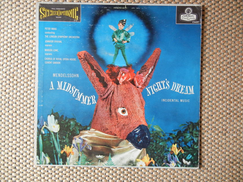 Mendelssohn - A Midsummer Night's Dream LSO/Maag London FFSS CS 6001 Blue Back