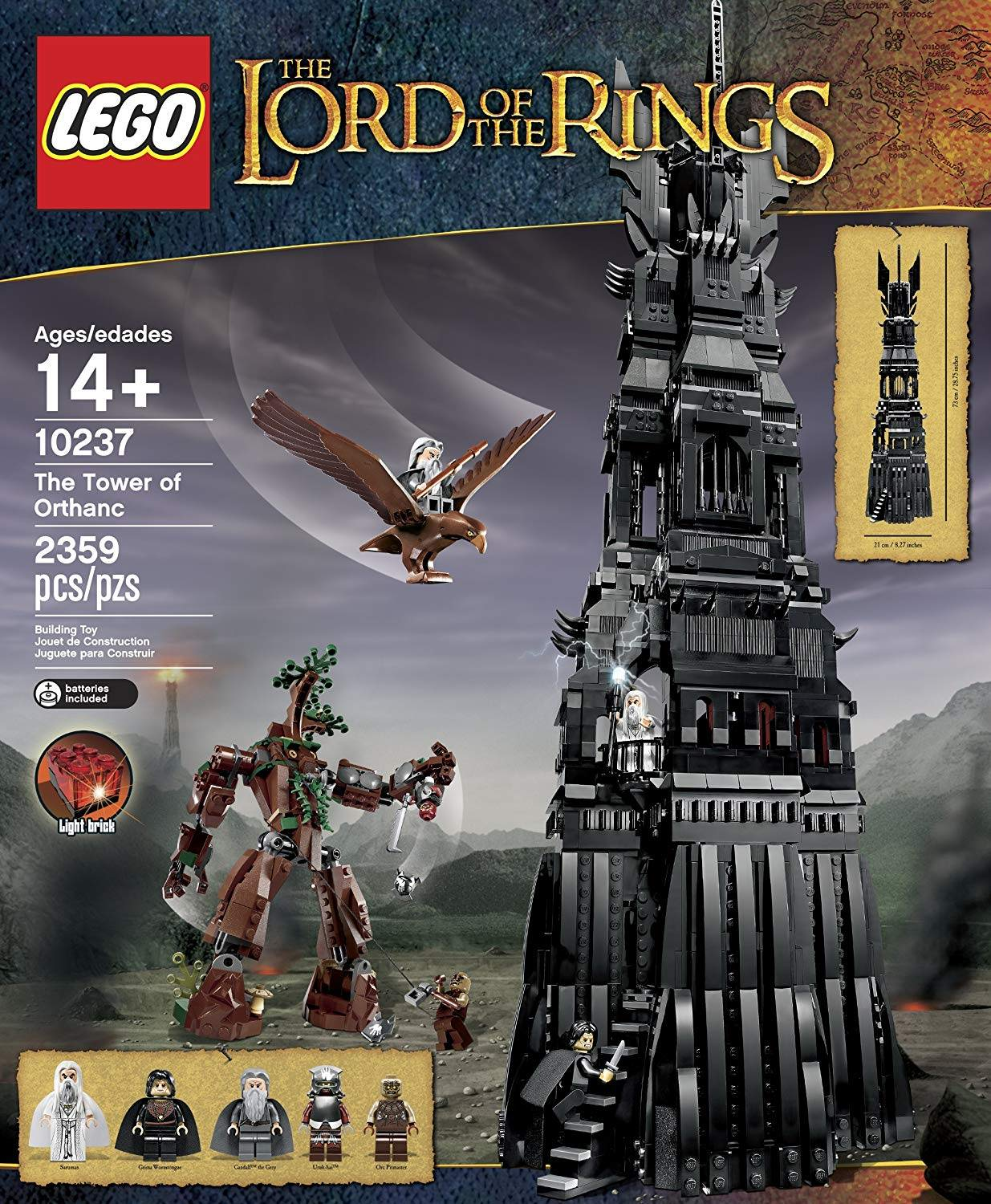 LEGO THE TOWER OF ORTHANC 10237