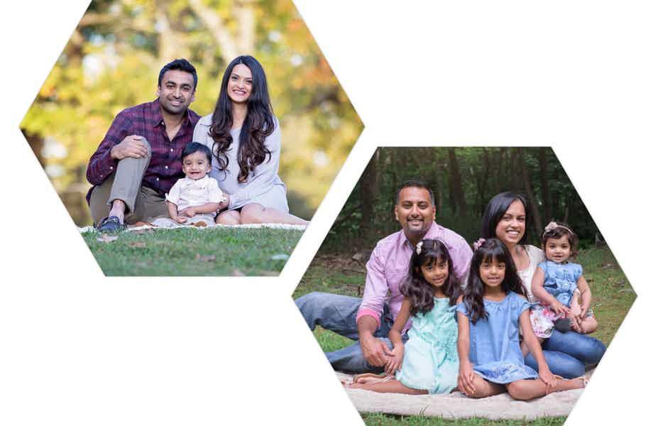 Dharati Ambar & Devin Family Pic