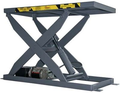 pentalift ir series lift table, table pentalift