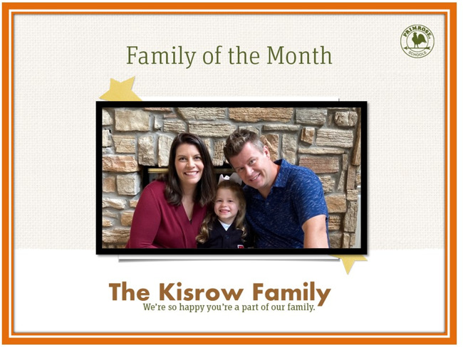 Kisrow Family of the Month