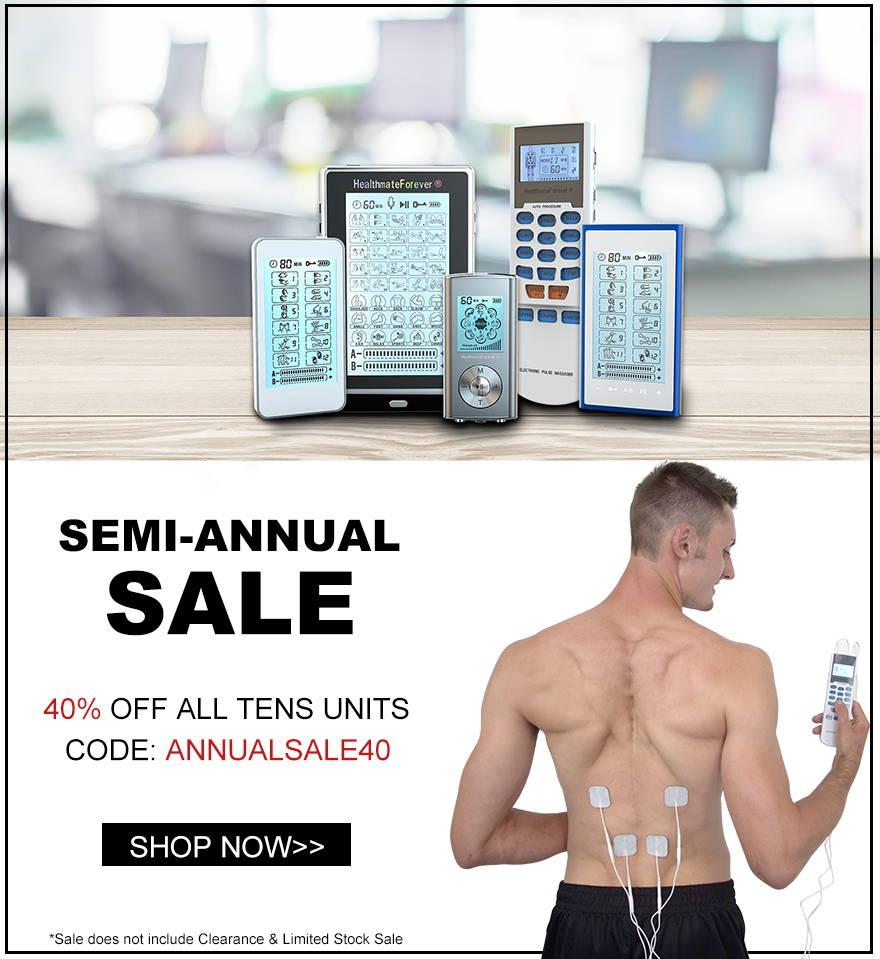 TENS Unit & EMS Muscle Stimulator Device - Pain Relief Machine – HealthmateForever