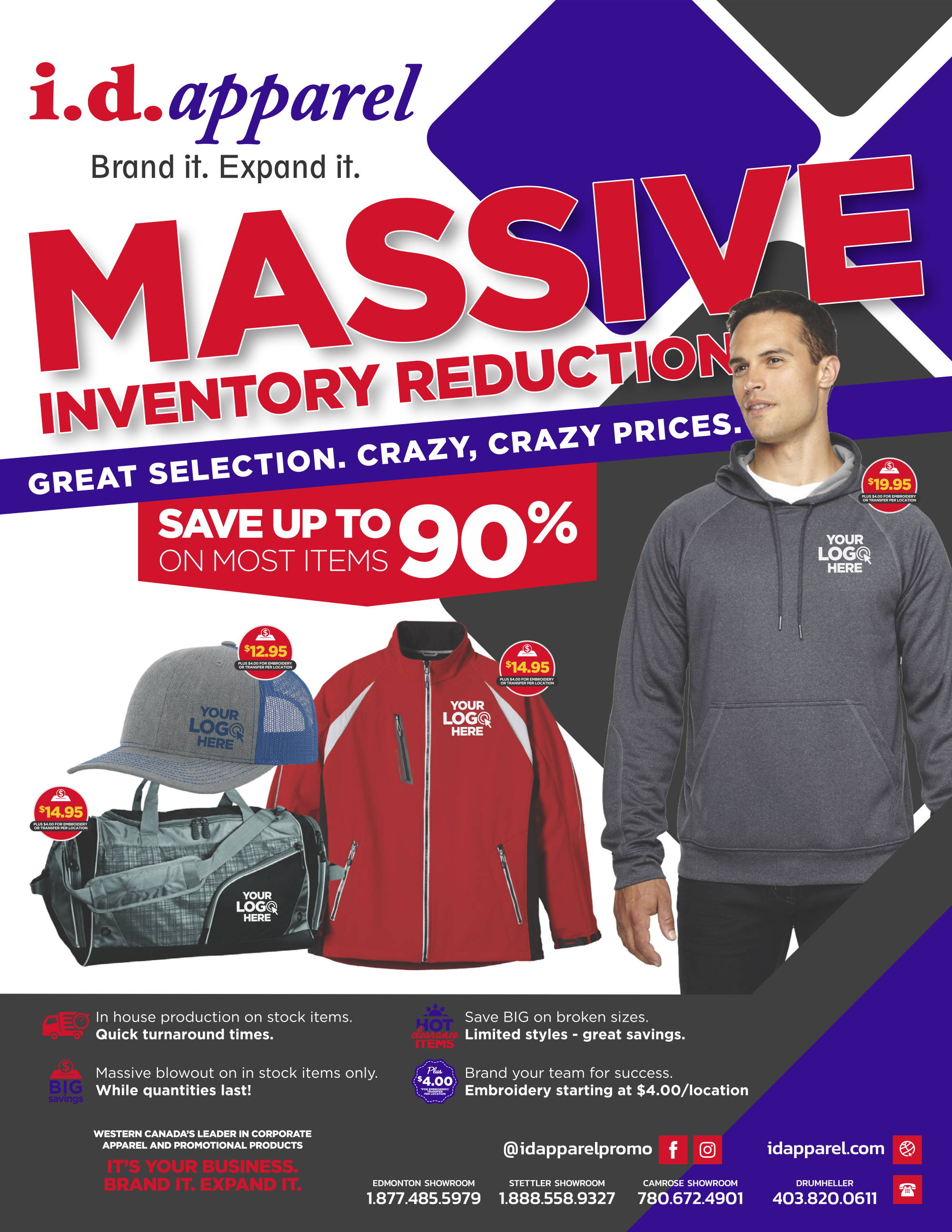 2020 Inventory Reduction Sale