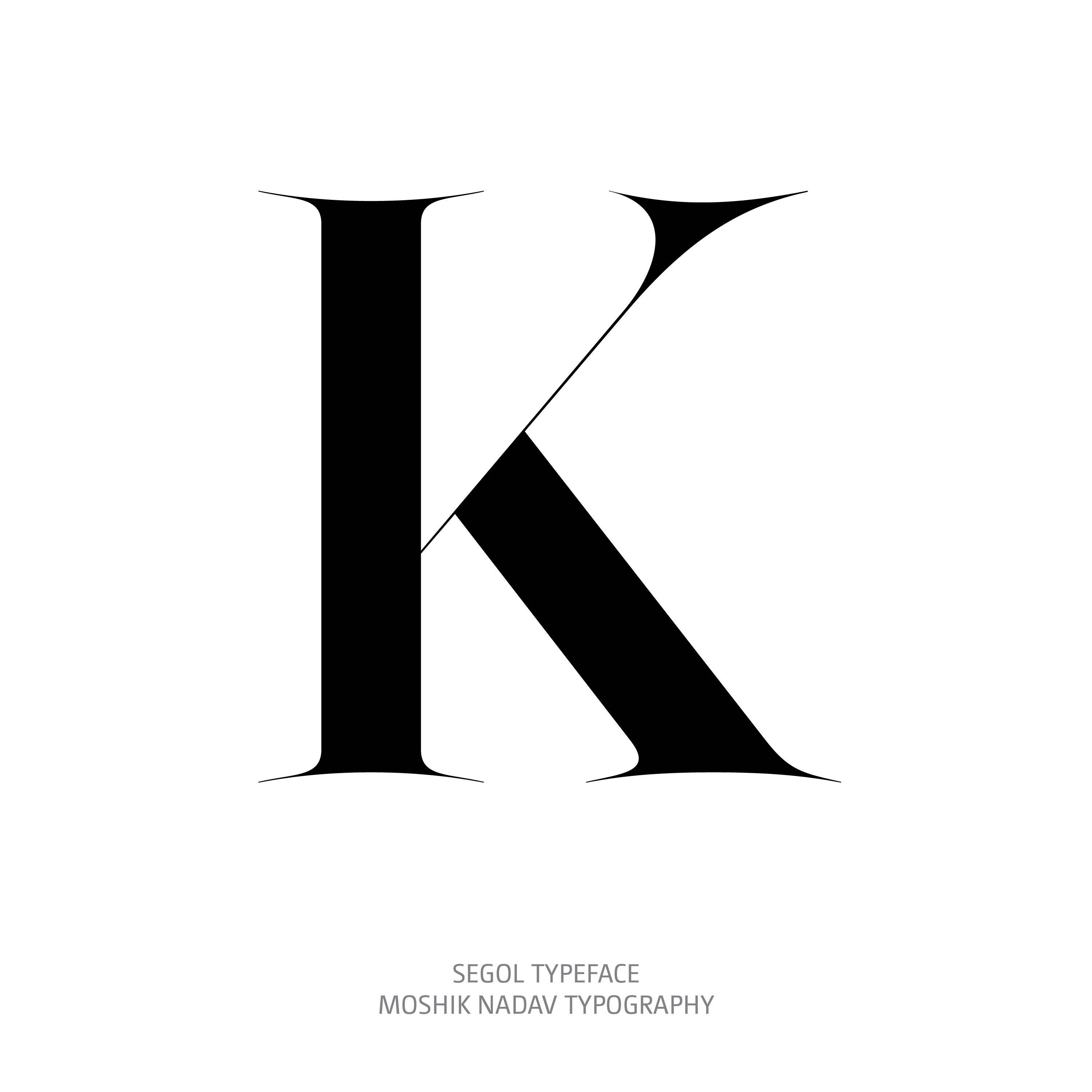Segol Typeface K The Ultimate Font For Fashion Typography and sexy logos