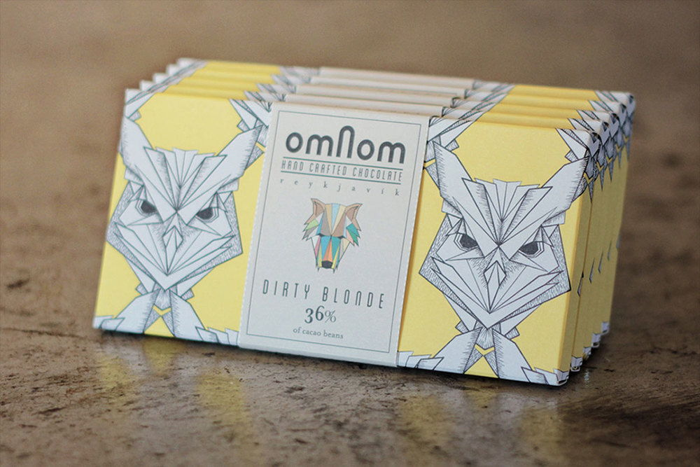 Omnom Handmade Chocolate | Dieline