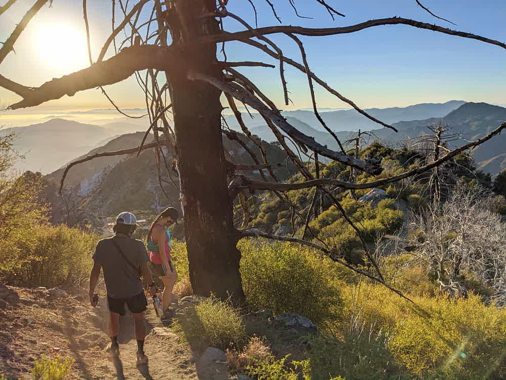 Hike to San Gabriel Peak in the Santa Cruz Mountains