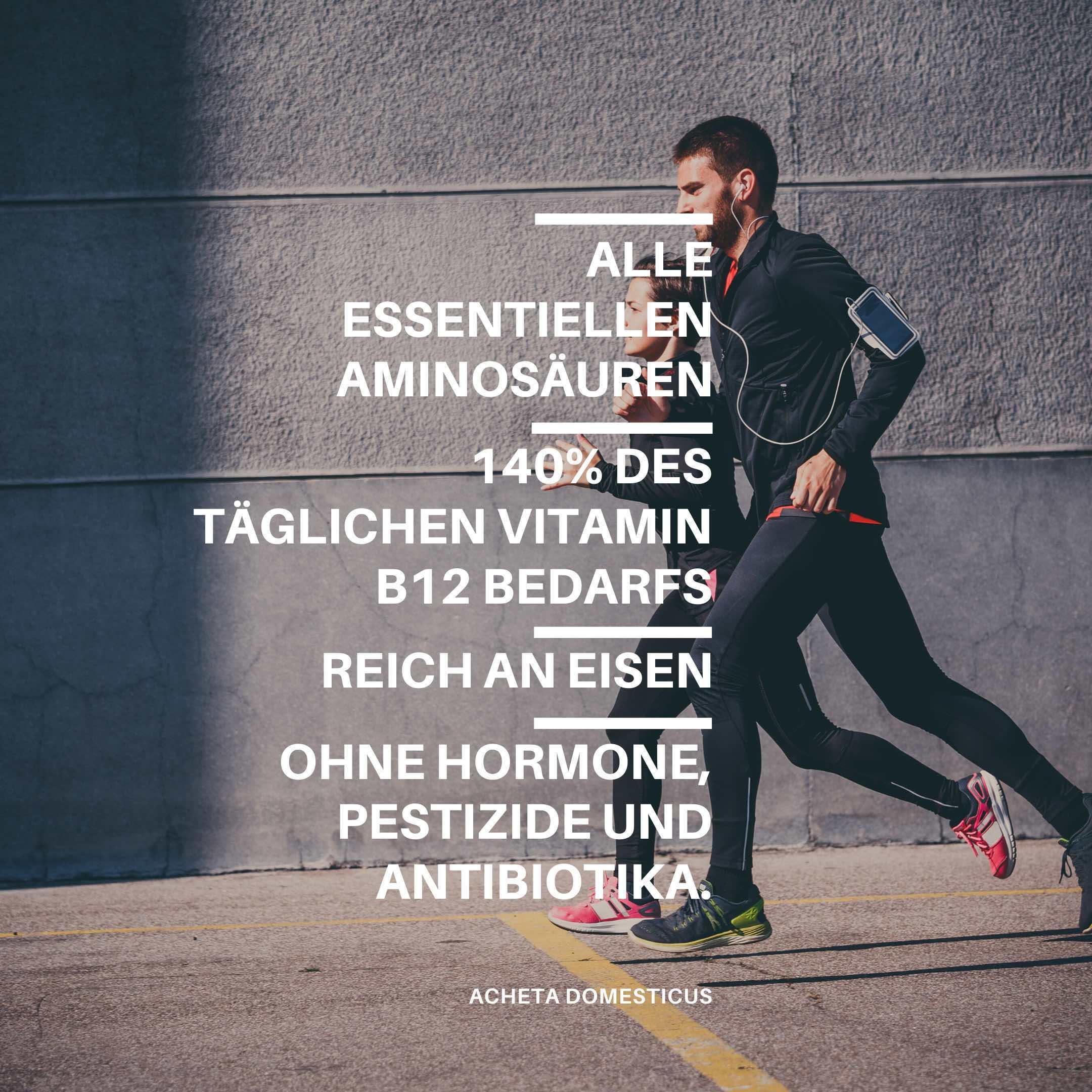 Das erste Insekten-Proteinpulver enthält alle essentiellen Aminosäuren und Vitamin B12 und ist die optimale Sportlernahrung