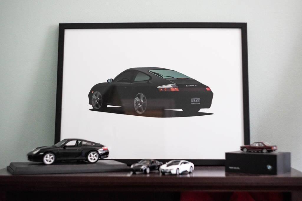 Custom Car Portrait