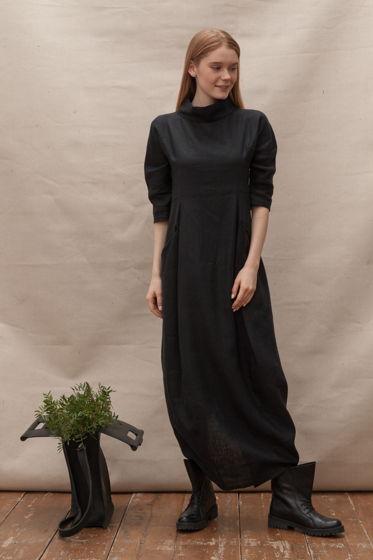 Платье из натуральной крапивы (рами)