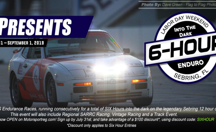 CFR Members Memorial & SIX Hour Enduro-Drivers Reg