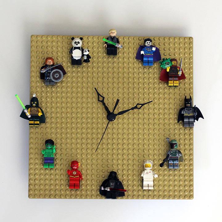 lego diy clock