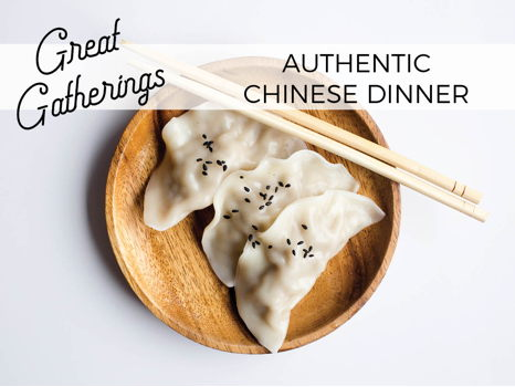 Authentic Chinese Dinner