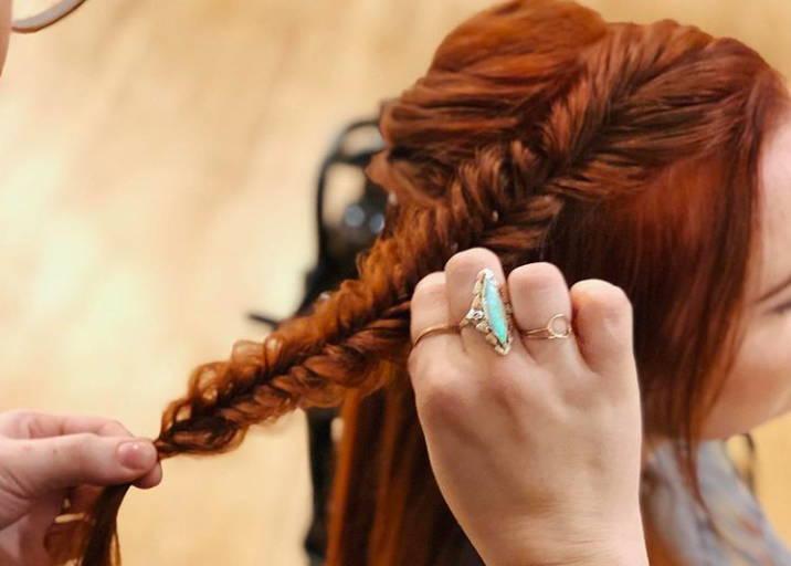 Fishtail braid tutorial Davines how to