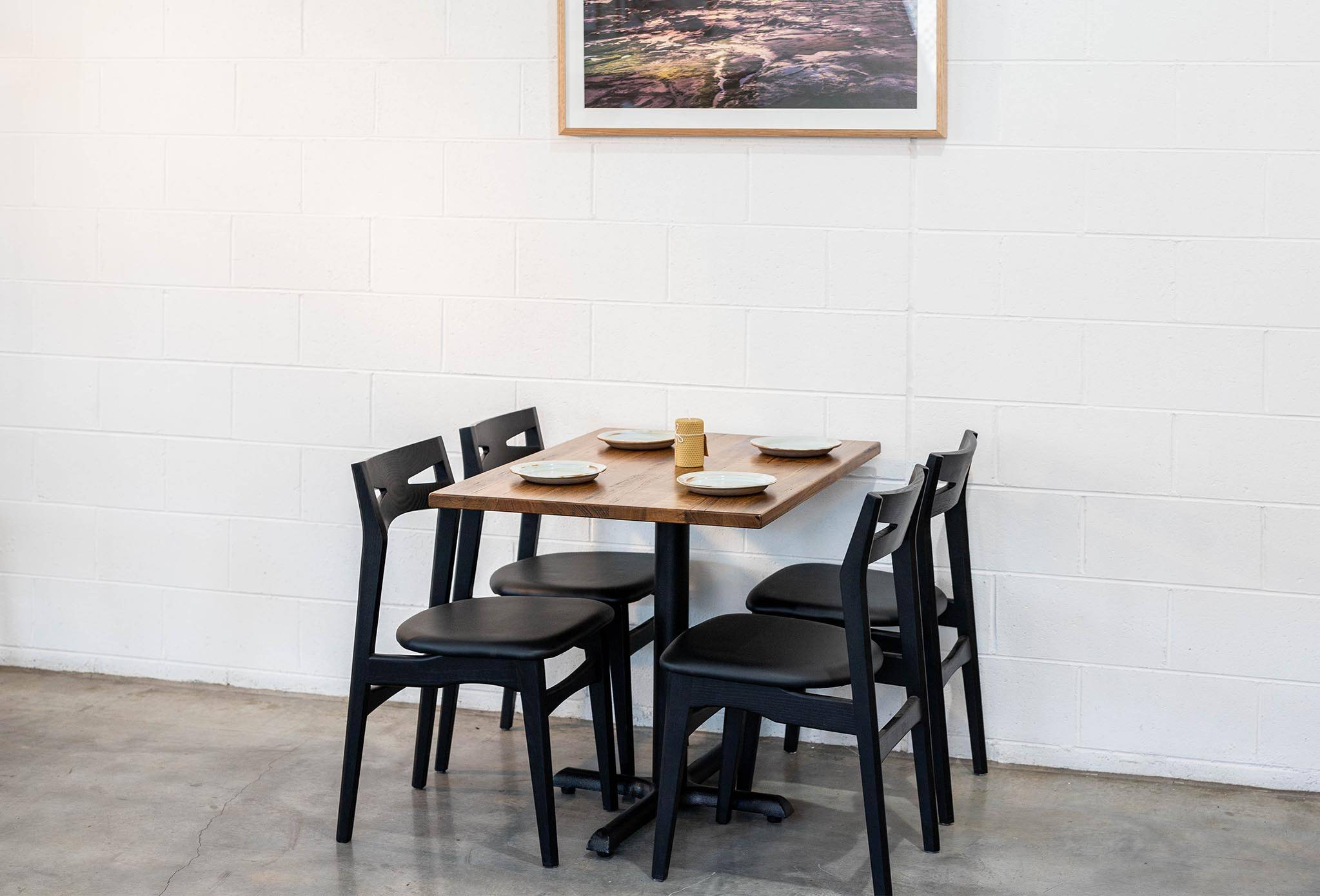 Cafe Straightboard for 4 Seats