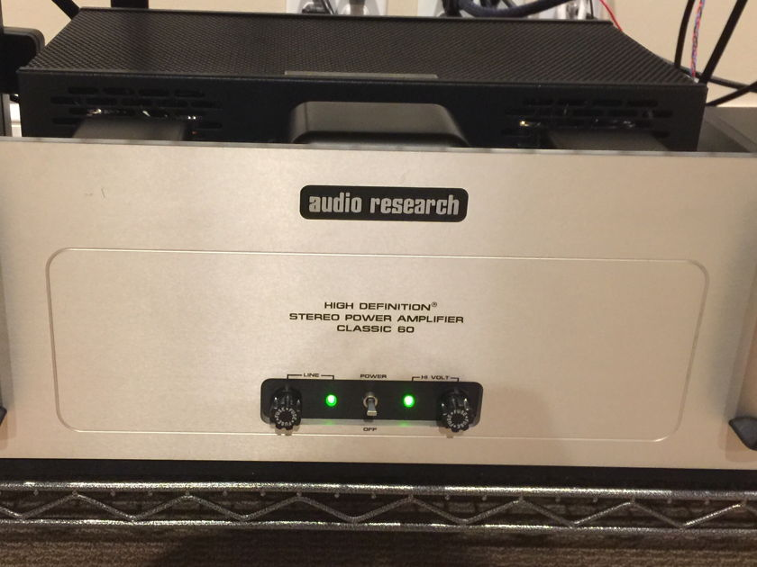 Audio Research  Classic 60 Amp & LS 12 preamp