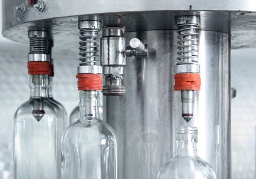 Machine use to bottle