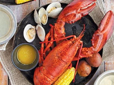 Take-out Lobster Bake for 8 adults