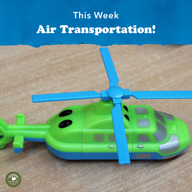 Air transportation graphic