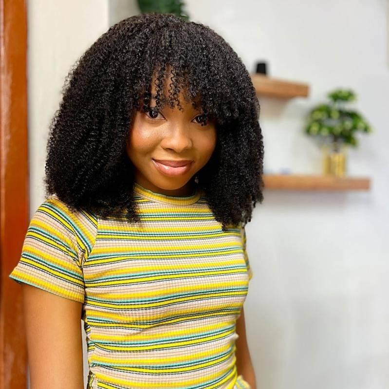Diva curly wig