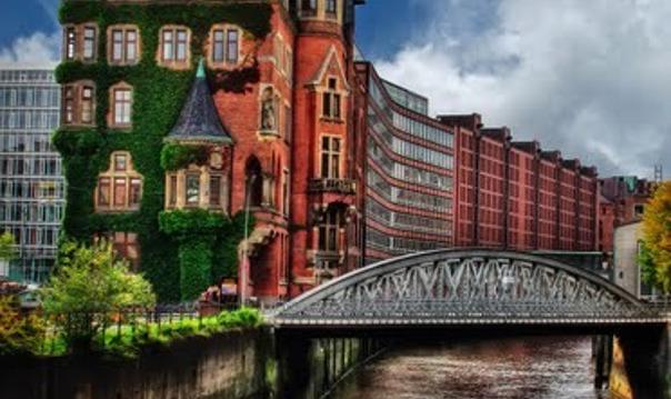 Обзорная пешеходная экскурсия по Гамбургу