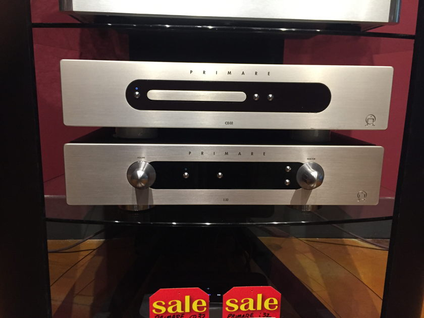 Primare Systems i32 Integrated amp, CD32 CD Player Can Be Sold Separately (i32- $2799.00) (CD32-$1199.00)