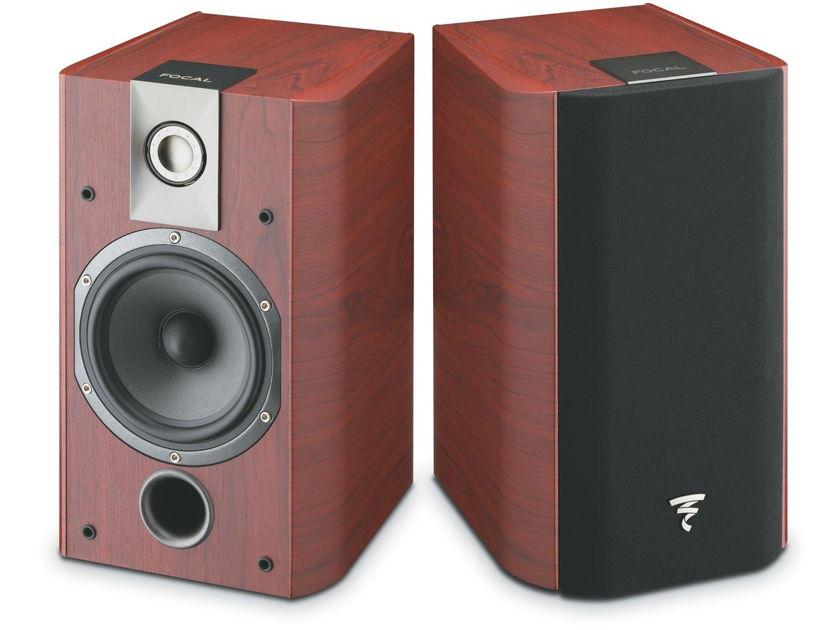 FOCAL CHORUS 705 Bookshelf Compact Loudspeaker: Mint B-Stock; Full Manufacturer's Warranty; Rosewood; 33% Off