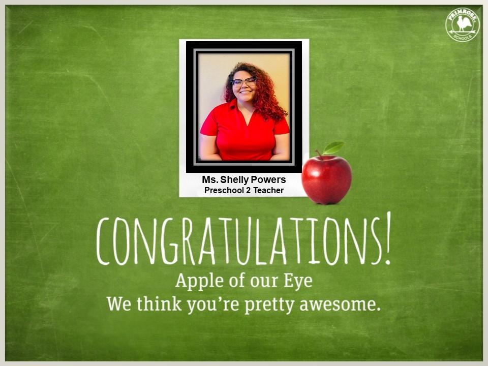 preschool dedicated teacher red glasses happy preston meadow primrose schools