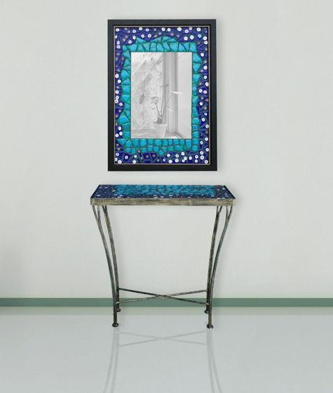 """Столик и настенное зеркало """"Винтаж"""""""