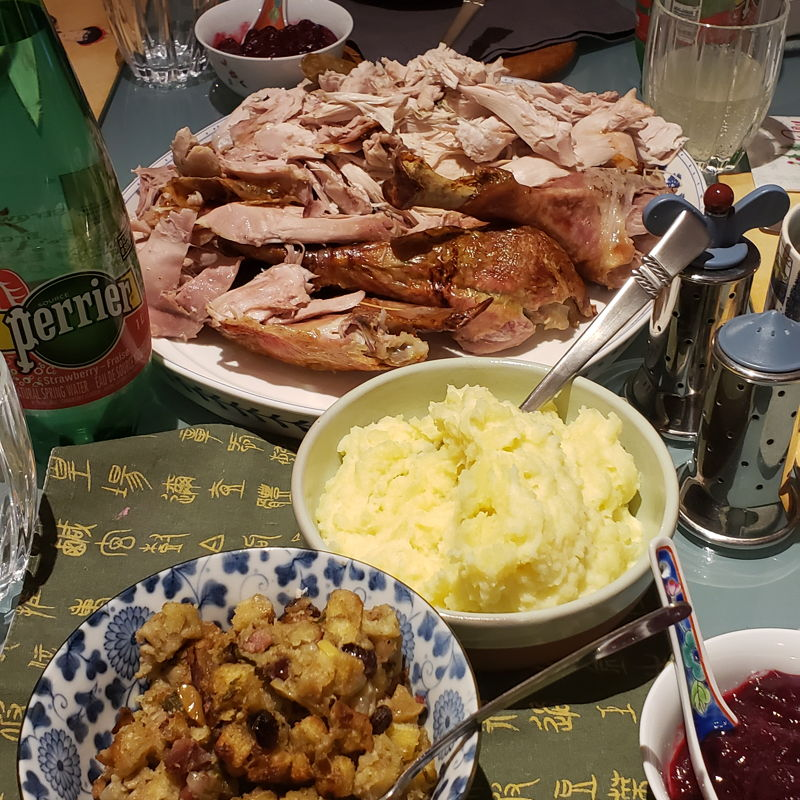 Turkey plus sides