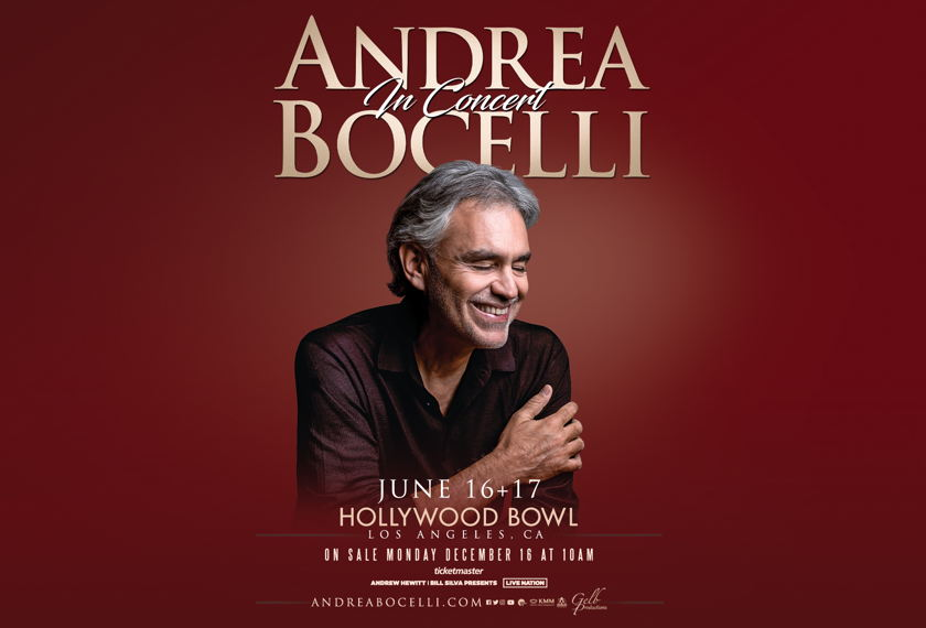 Andrea Bocelli artwork