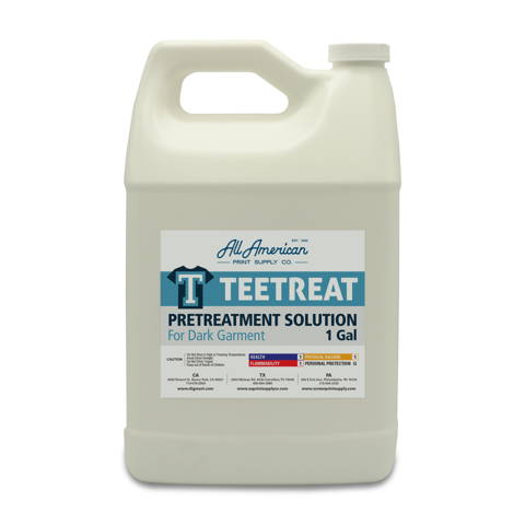 TeeTreat DTG Pretreatment Solution for Dark Garments 1 Gallon