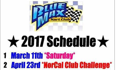 Blue Max Kart Club Race Sat. Race  #1