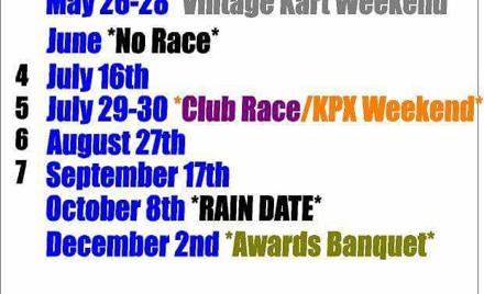 Blue Max Kart Club Race Sat. Race  #4