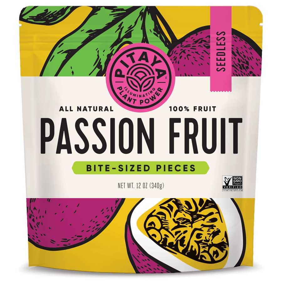 Pitaya Natural Passion Fruit Cubes