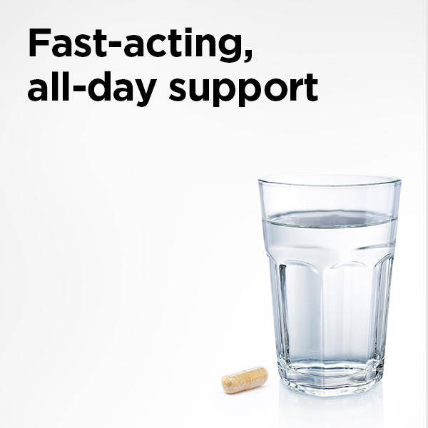fast-acting all day support