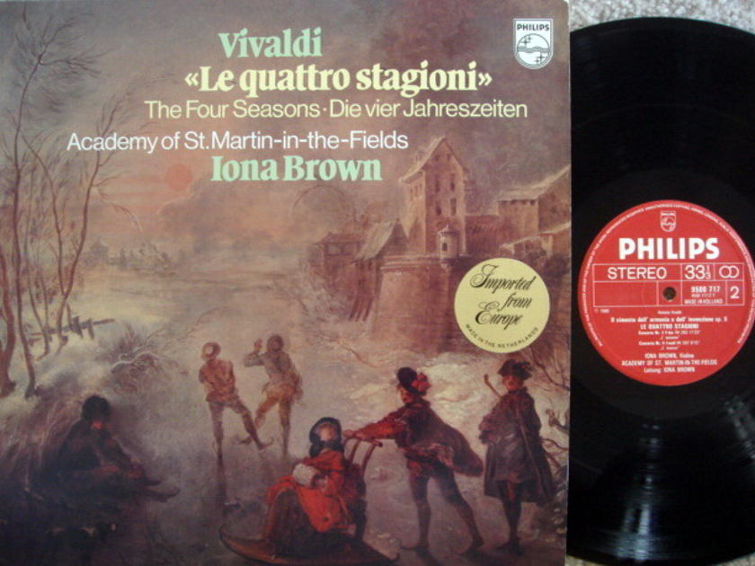 Philips / BROWN, - Vivaldi The Four Seasons, NM!