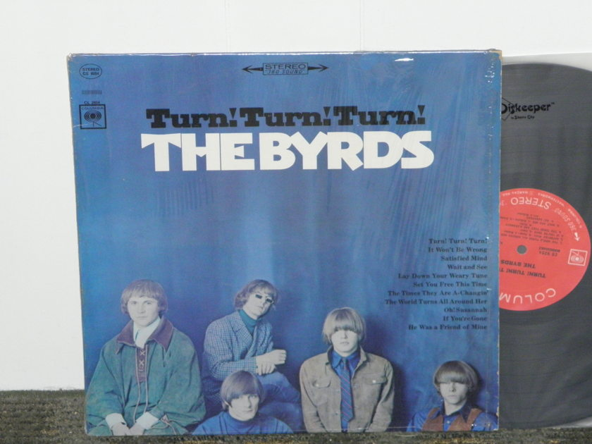 """The Byrds - """"Turn Turn Turn"""" Columbia CS 9254 360""""First labels"""" STEREO Still in shrink"""