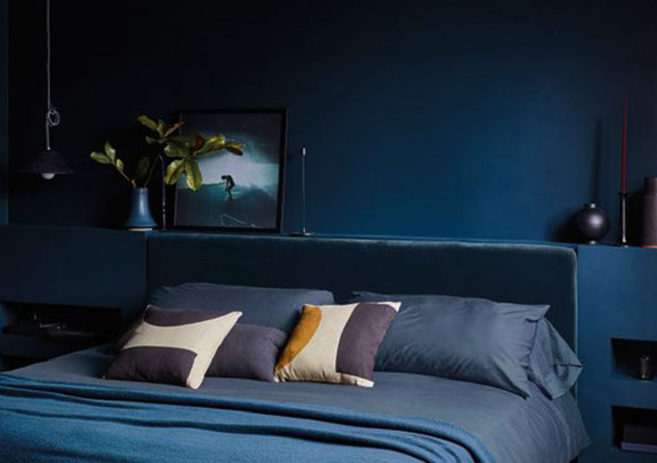 Blue Monochromatic design