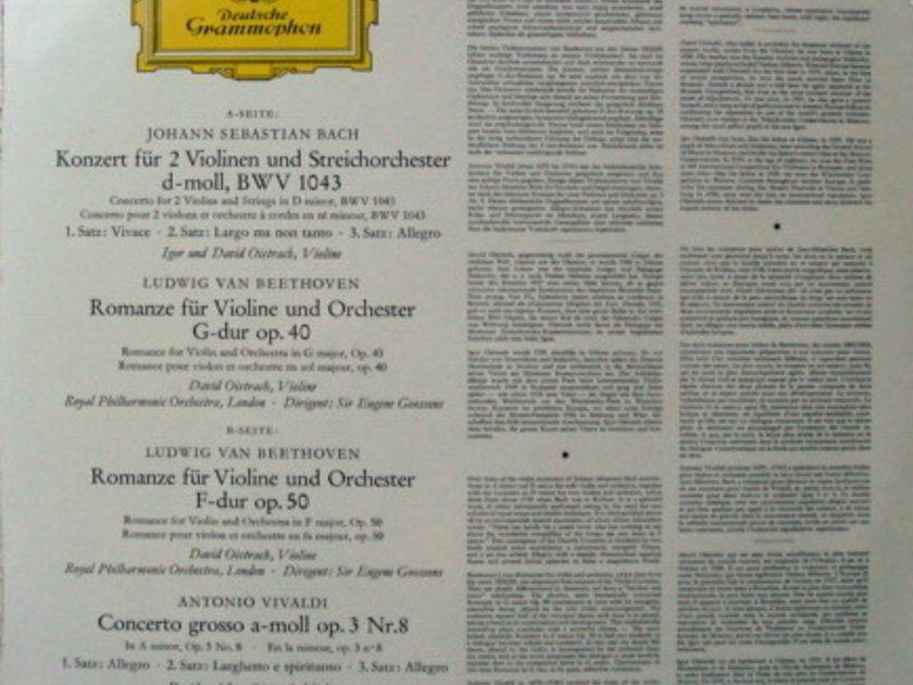 ★Sealed★ DG / DAVID &  - IGOR OISTRAKH, Bach-Beethoven-Vivaldi!