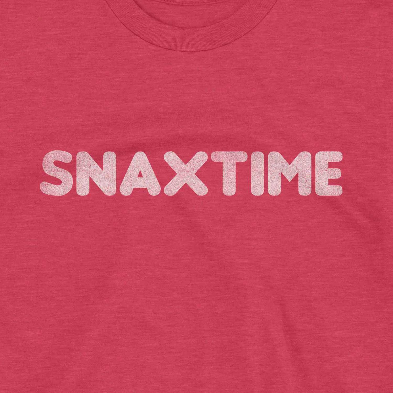 Snaxtime Retro Inspired Unisex Graphic T Shirt