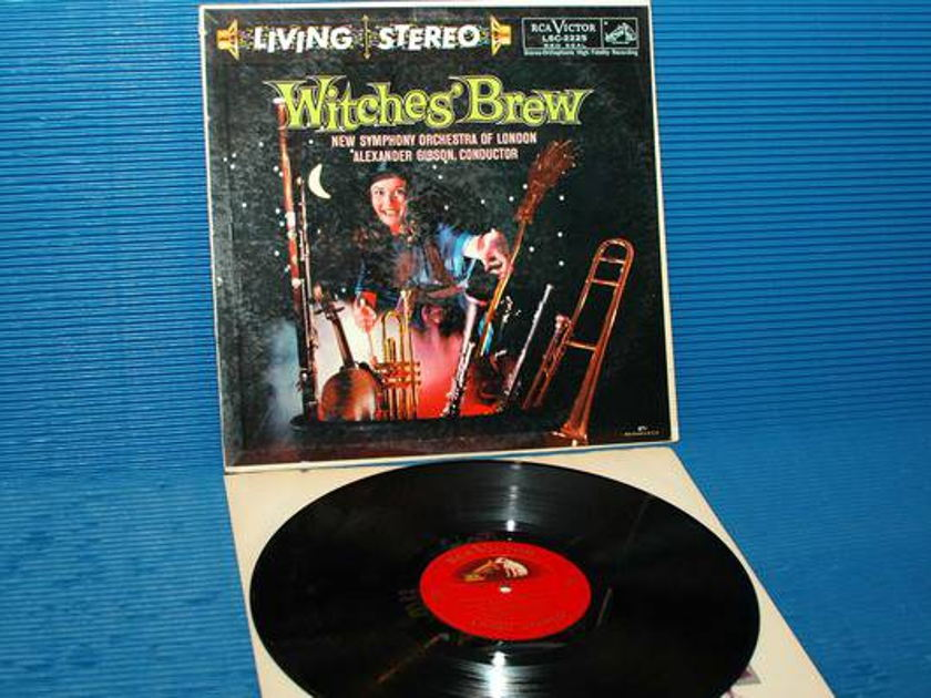 """ALEXANDER GIBSON - - """"Witches Brew"""" -  RCA 'Shaded Dog'  1958 TAS List 1st pressing"""