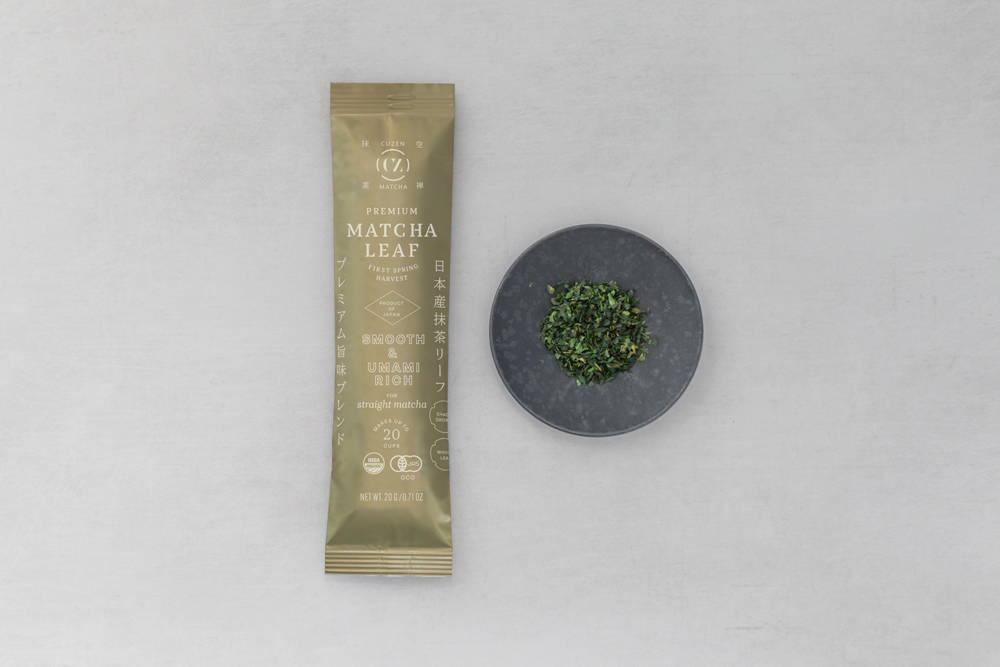 Matcha leaf packet premium