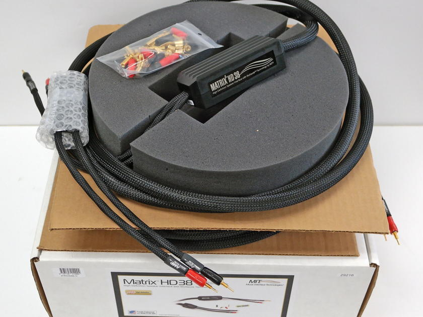 MIT Matrix HD 38 Speaker Cables 12ft pair